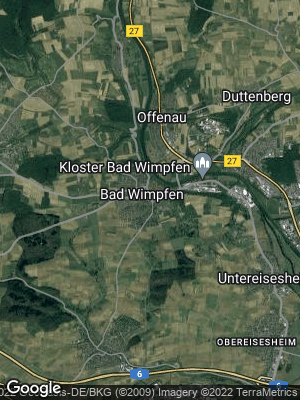 Google Map of Bad Wimpfen