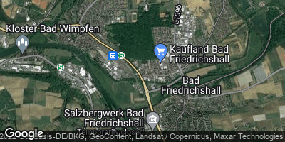 Google Map of Bad Friedrichshall