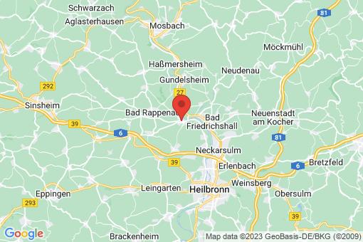 Karte Bad Wimpfen
