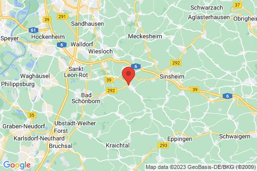 Karte Angelbachtal