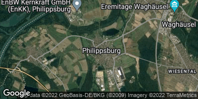 Google Map of Philippsburg