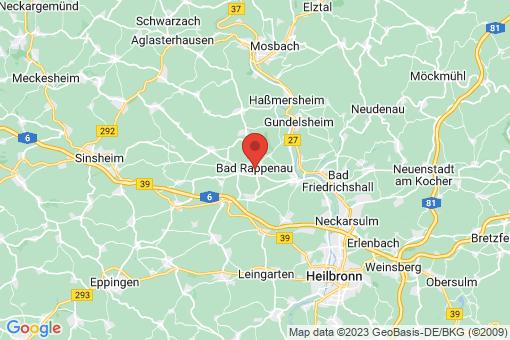 Karte Bad Rappenau