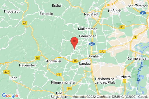 Karte Gleisweiler