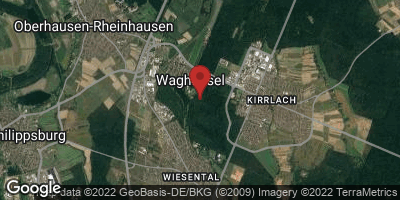 Google Map of Waghäusel