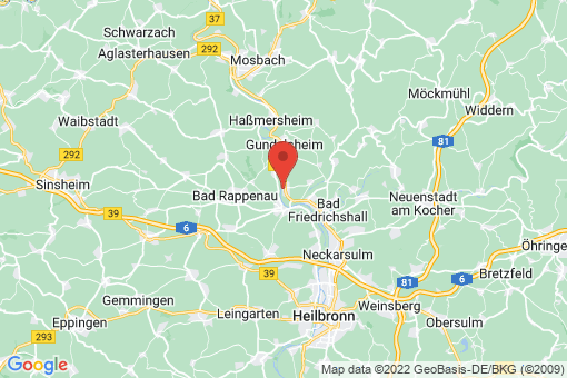 Karte Offenau