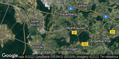 Google Map of Malsch bei Wiesloch