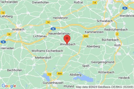 Karte Windsbach