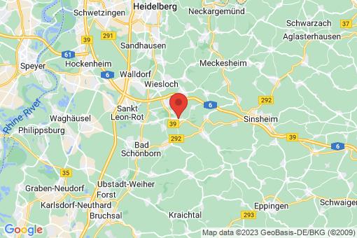 Karte Mühlhausen