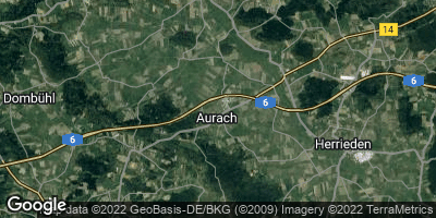 Google Map of Aurach
