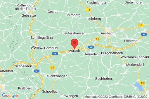 Karte Aurach
