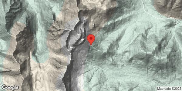 Pure North = Dry (>1700m)