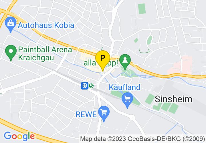 Kartenansicht Parkplatz