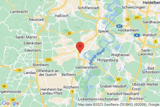 Karte Lingenfeld