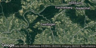 Google Map of Zweiflingen