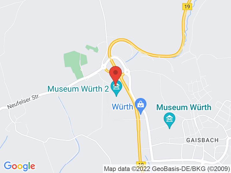 Map of Carmen Würth Forum