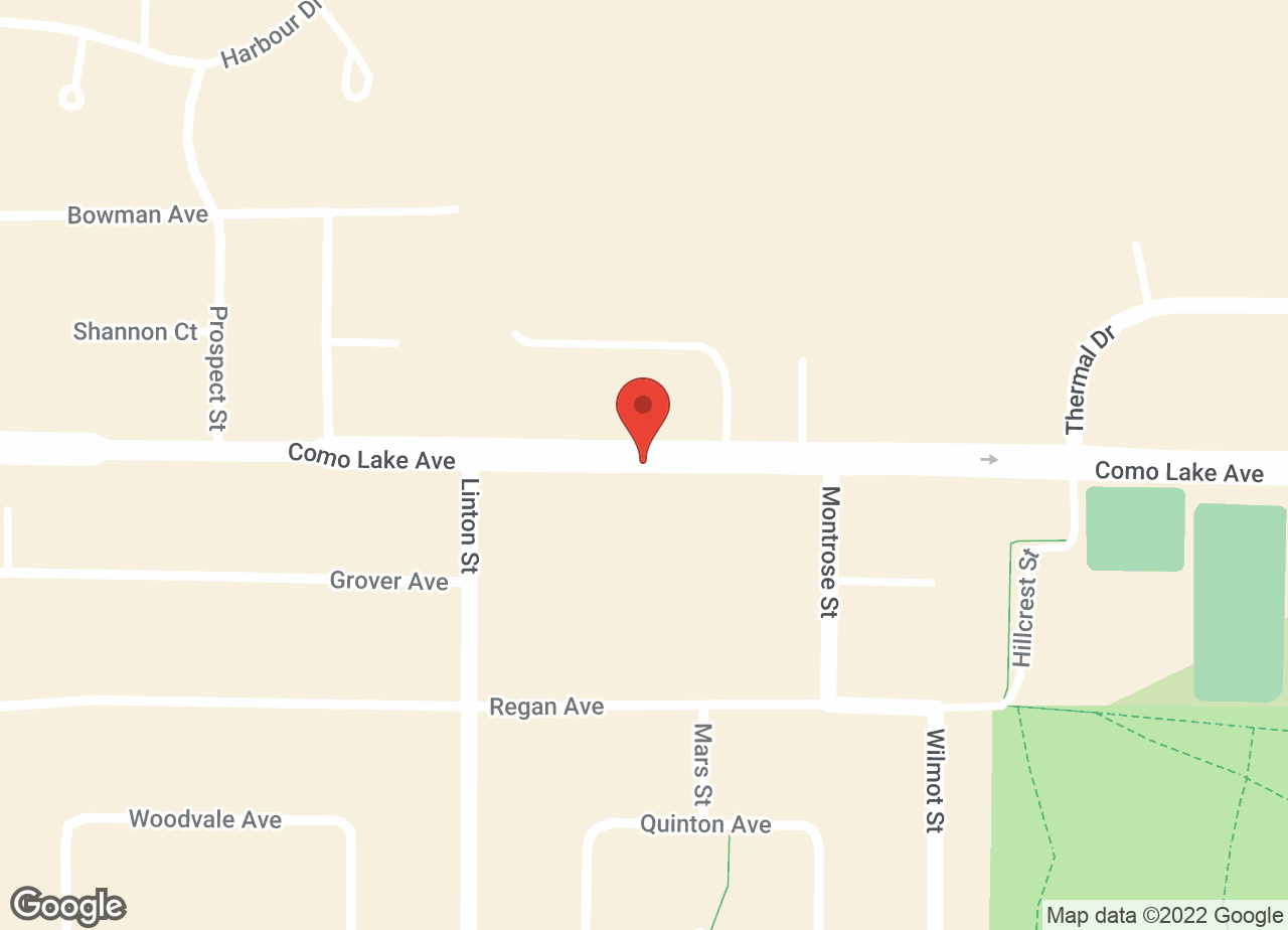 Google Map of Como Lake Animal Hospital