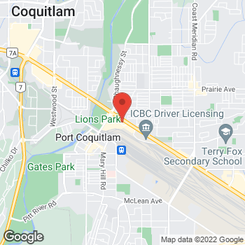 Map of Tim Hortons at 2090 Lougheed Hwy, Port Coquitlam, BC V3B 1A8