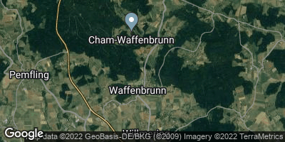 Google Map of Waffenbrunn