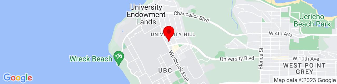 Google Map of 49.2672816, -123.2452473