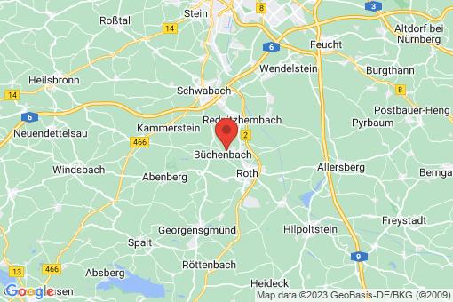 Karte Büchenbach