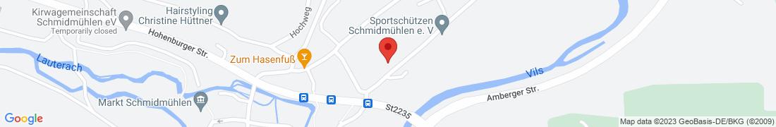 BayWa Technik Schmidmühlen Anfahrt
