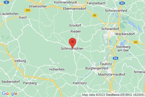 Karte Schmidmühlen