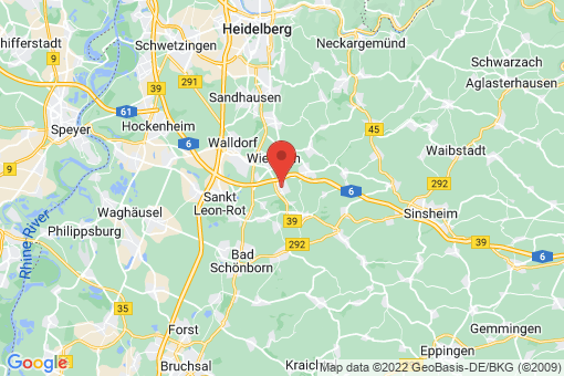 Karte Rauenberg