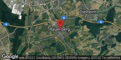 Google Map of Rauenberg
