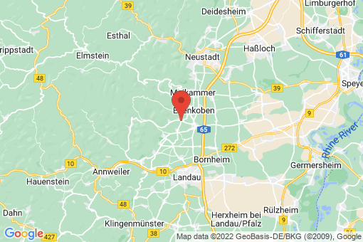 Karte Rhodt unter Rietburg