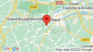 Carte de localisation du centre de contrôle technique LE THUIT ANGER