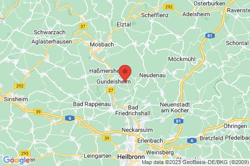 Karte Bachenau
