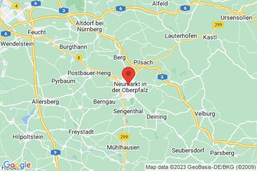 Karte Neumarkt in der Oberpfalz