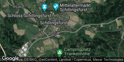 Google Map of Schillingsfürst
