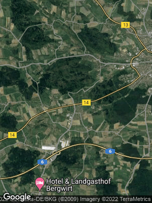 Google Map of Elpersdorf bei Ansbach