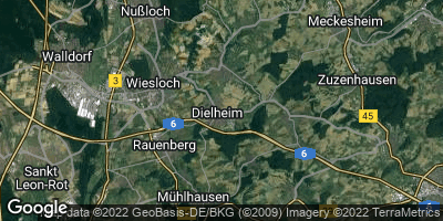 Google Map of Dielheim