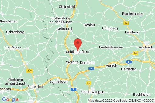 Karte Schillingsfürst