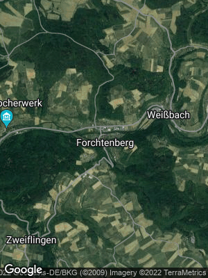 Google Map of Forchtenberg