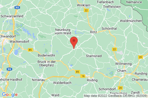 Karte Neukirchen-Balbini