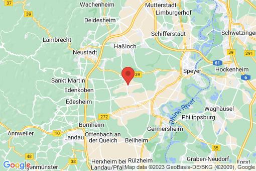 Karte Gommersheim
