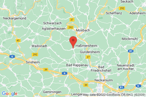 Karte Hüffenhardt