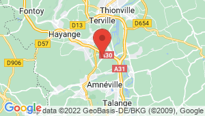Carte de localisation du centre de contrôle technique JOINVILLE