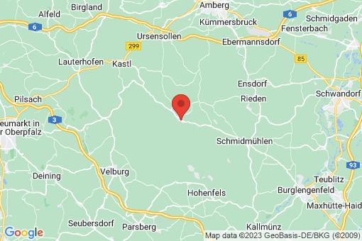Karte Hohenburg