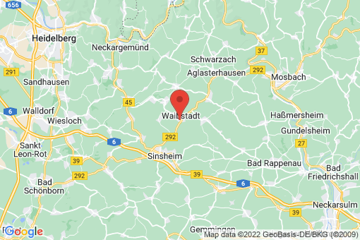Karte Waibstadt