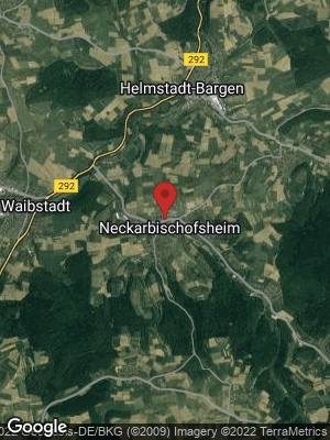 Google Map of Neckarbischofsheim
