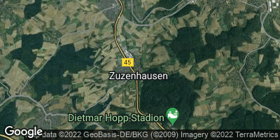 Google Map of Zuzenhausen
