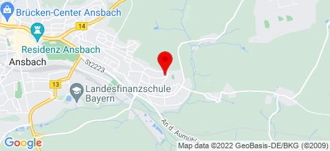 Google Map für Monteurzimmer Ferienwohnungen Ulrike Spiess
