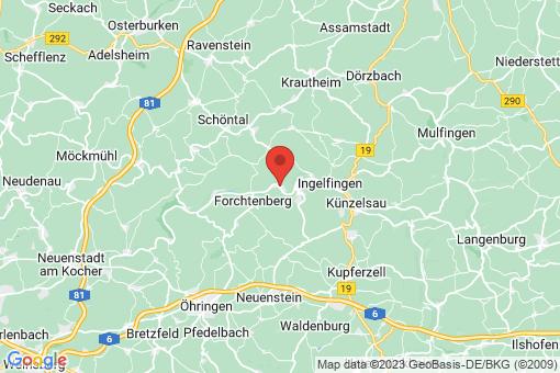 Karte Weißbach