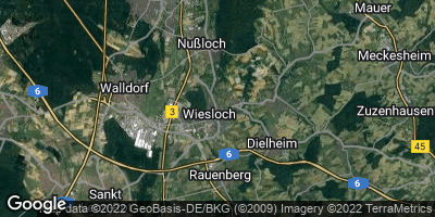 Google Map of Wiesloch