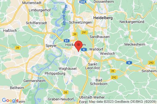 Karte Reilingen