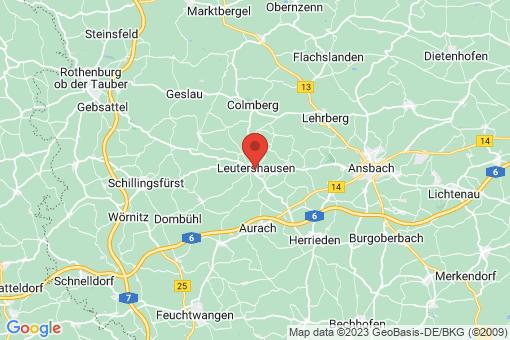 Karte Leutershausen